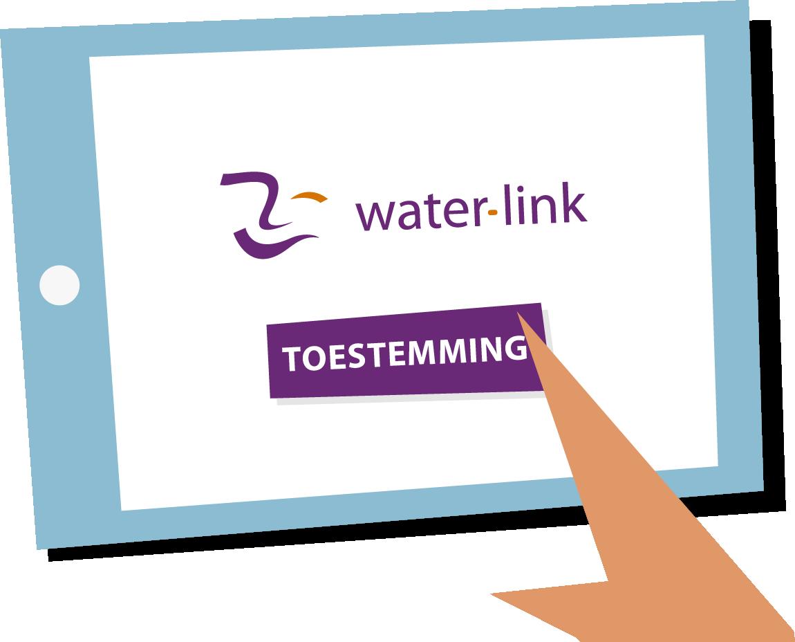 Digitale Watermeter Toestemming
