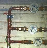 Drie privéwatermeters